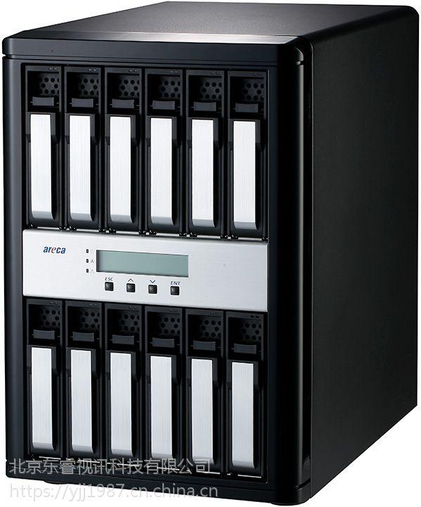 东睿雷电3代12盘位磁盘阵列//ARECA雷电阵列