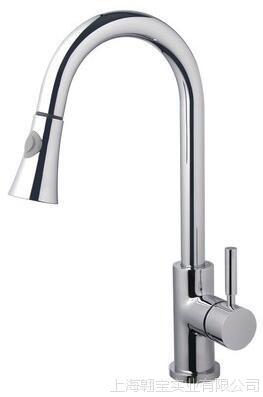 埃美柯XG191全铜水龙头 冷热水槽菜盆厨房龙头(喷头可伸缩,拉伸)