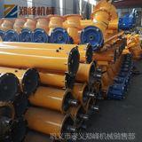 现货热销 螺旋输送机 加工定制管式螺旋输送机 绞龙加厚输送机