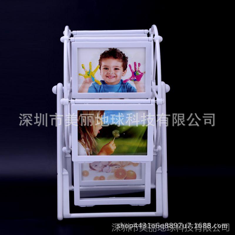 九宫格大风车相框5寸现代简约宝宝儿童相架婚纱相框摆台拾光宝盒