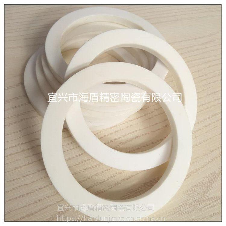 来图来样加工精密氧化锆陶瓷环 陶瓷密封环