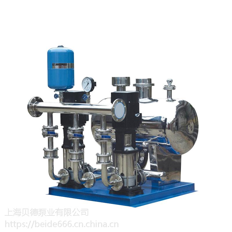 销售XBWP100/2-14/2-0.6无负压生活(消防)变频恒压给水设备,稳流罐节能环保上海厂家