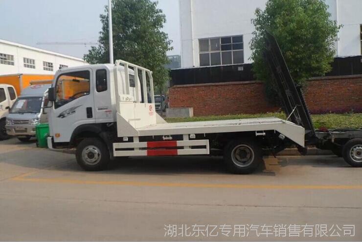 厂家现货销售解放虎V3.168排量平板运输车挖机拖车湖北随州改装