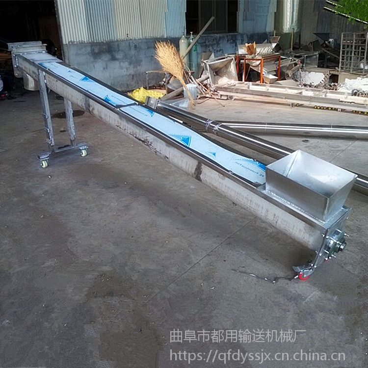 螺旋输送机叶片设计知名 U型螺旋输送机型号生产厂家山东