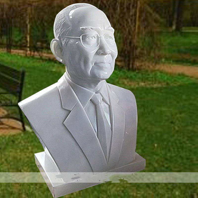 石雕胸像汉白玉现代革命人物半身像历史名人伟人肖像头像雕塑摆件曲阳万洋雕刻厂家定做