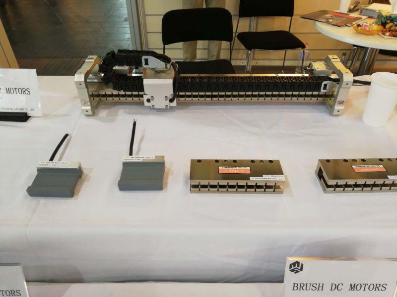 敏动无铁芯直线电机直线位移机构