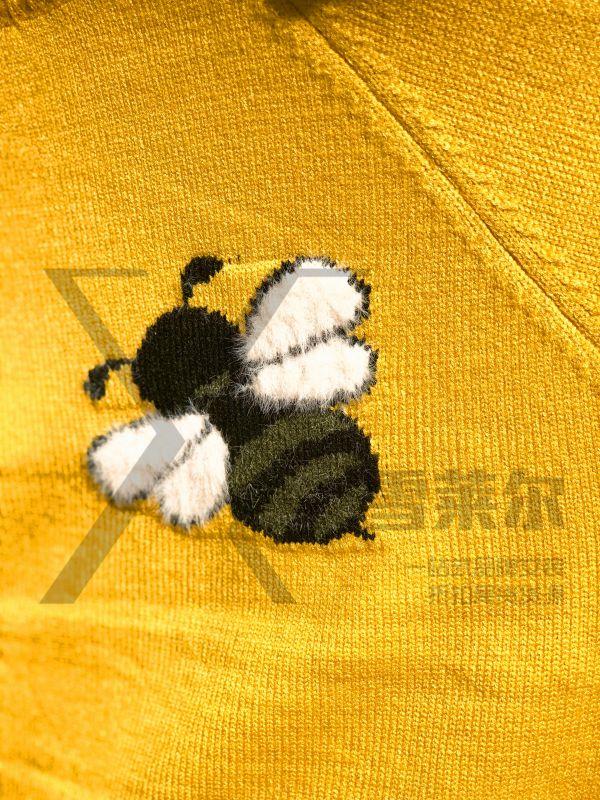 深圳品牌女装折扣W.M.J毛衣短款货源批发尾货拿货渠道新款组货包