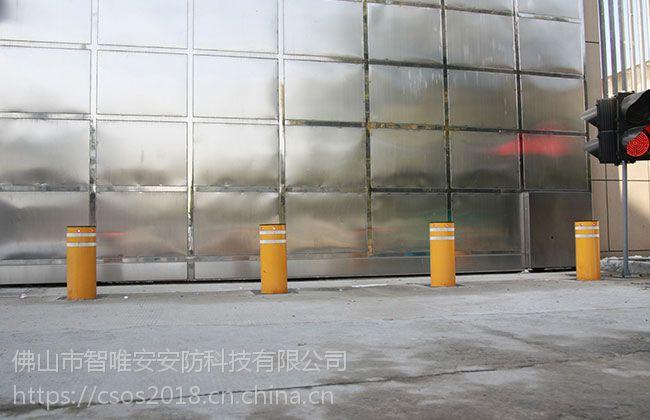 吉林长春景区不锈钢升降柱,黑龙江广场液压可升降挡车路桩