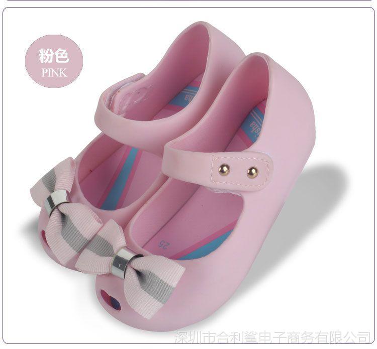 英伦蝴蝶结公主2018鱼嘴童鞋凉鞋时尚女童魔艺术瓷盆图片