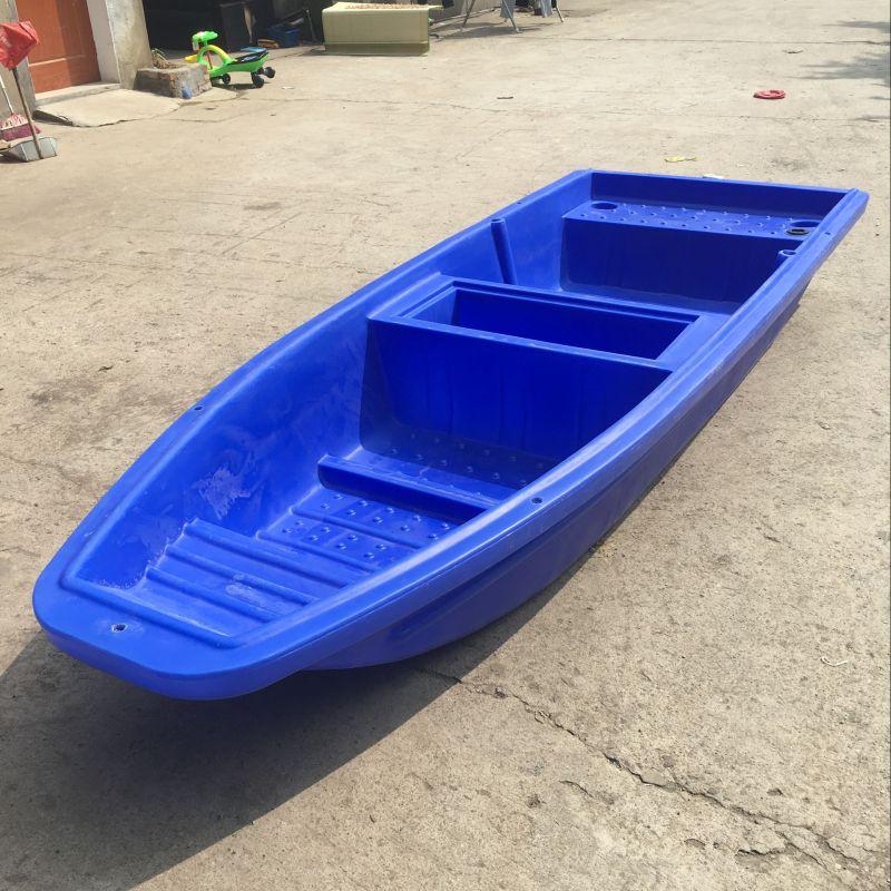 3米钓鱼船,4m塑料小渔船,PE双层塑料船 (玩船这个是高手