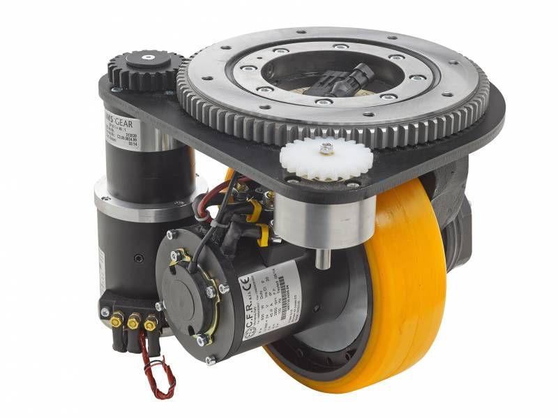 进口意大利CFR卧式立式舵轮驱动轮AGV驱动总成舵机