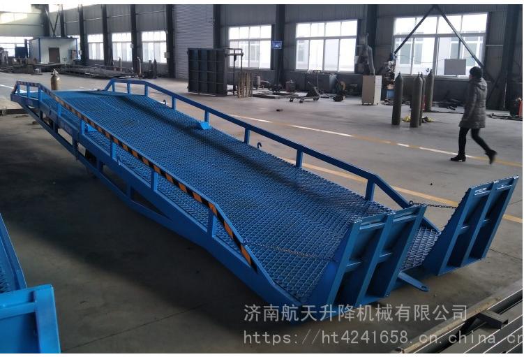 爆款热销盐城常规移动式登车桥 物流码头手动液压装卸货平台 安全可靠