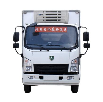河南森源新能源物流车7吨纯电动冷藏车生鲜食品运输车