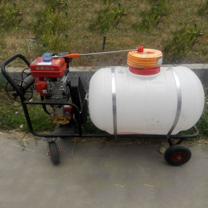 拉管式喷雾打药机 消毒杀虫消毒喷雾机 拖拉机喷雾器