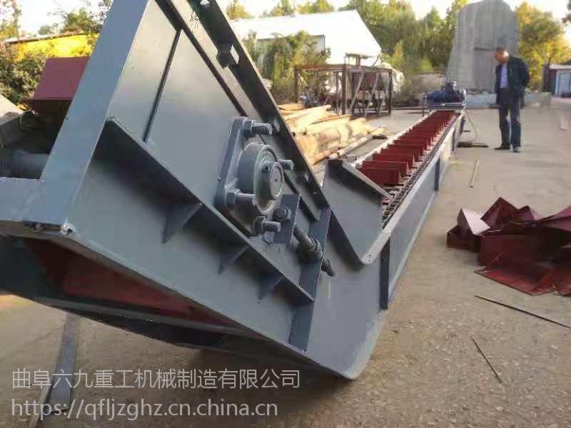 煤炭刮板输送机电话大提升量 链式输送机天津