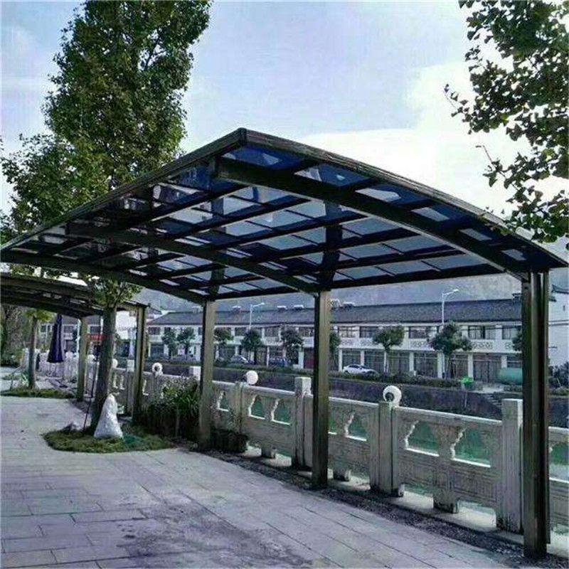 泉州用地厂家停车棚私家车别墅别墅遮阳棚充车棚出售轿车北京图片