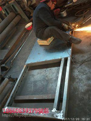 全自动自复式立井防爆门在宁武榆树坡煤矿完美收工