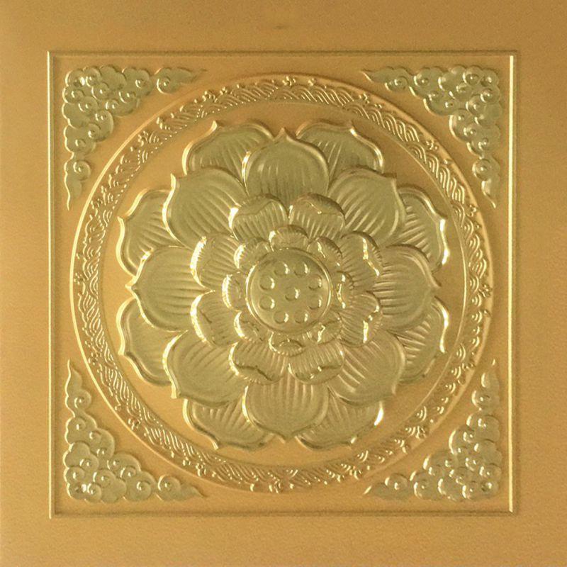 全金立体高浮雕主板古建寺庙佛堂吊顶材料