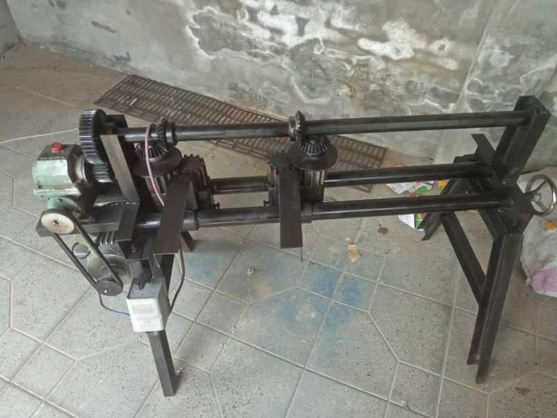 铁皮电动双边压花机 铁皮电动单边轧花机