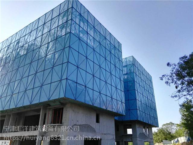 济南附着式全钢爬架价格,电动爬架施工选择汇洋建筑设备