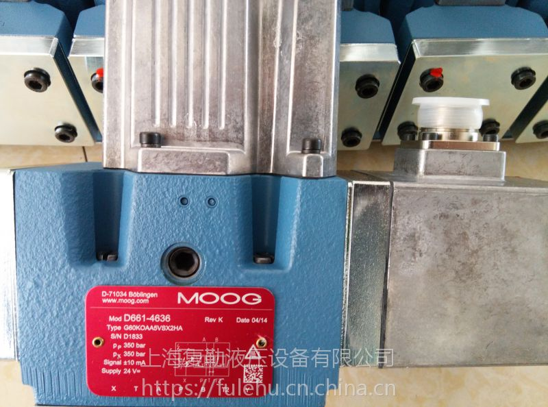 供应穆格MOOG072-1202-10伺服阀