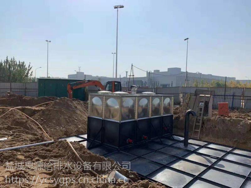 型号HHDXBF-388-55-100-I地埋式箱泵一体化