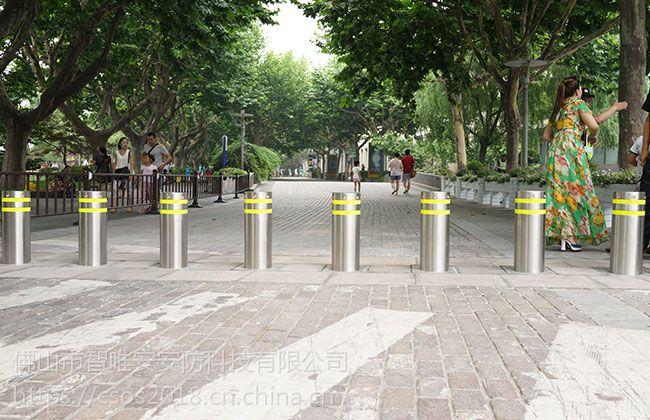江苏苏州液压升降柱,南京小区不锈钢埋地升降柱