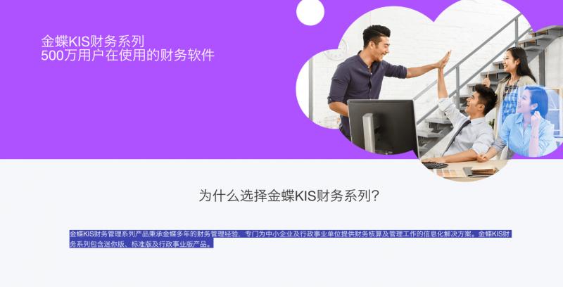 金蝶KIS标准版财务软件