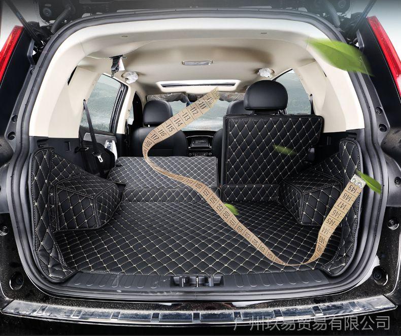 远景吉利X6后备箱垫远景SUV改装v远景尾箱垫如何用有线电视上wifi图片