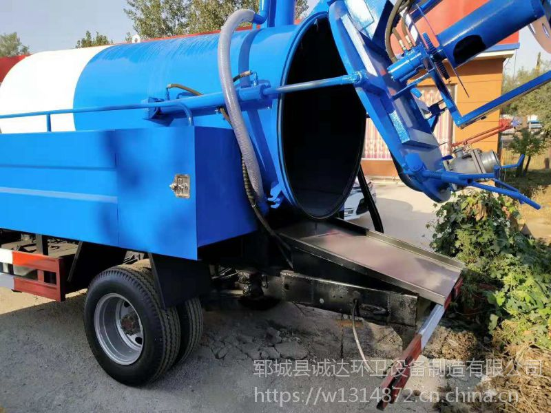 高压清洗吸污车 三立方吸污车一辆多少钱 价格