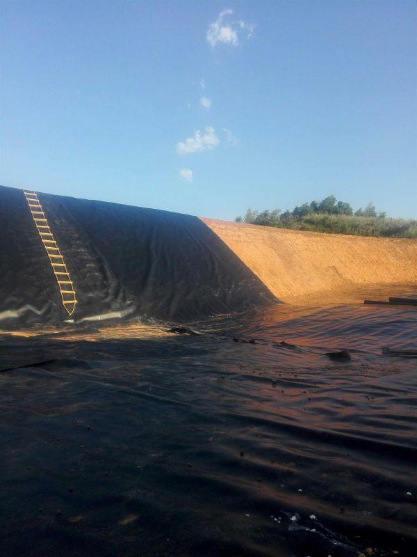 鱼塘防渗用土工膜   HDPE土工膜