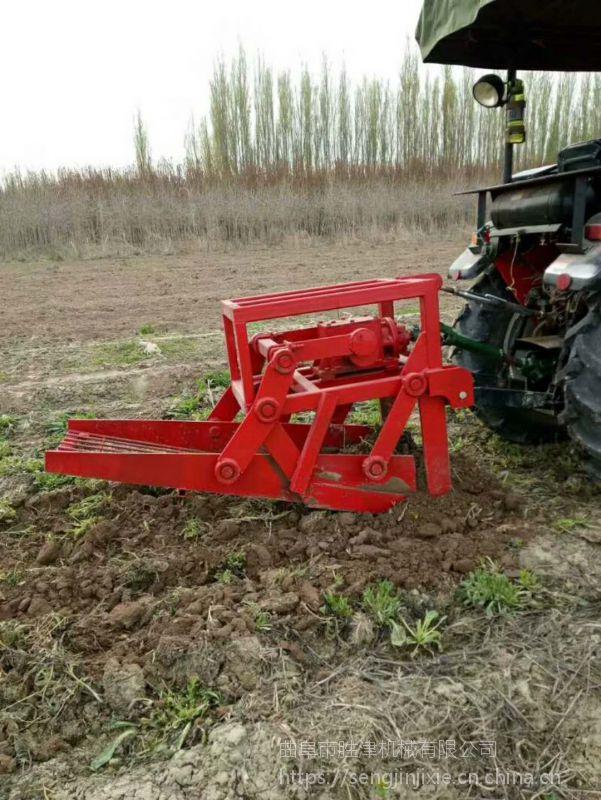 黄芪知母药材收获机 根茎作物收获机 板蓝根蒲公英挖掘机