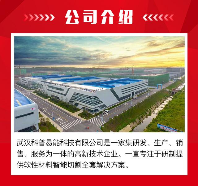 武漢科普易能科技京山生產基地,批量生產多層裁床