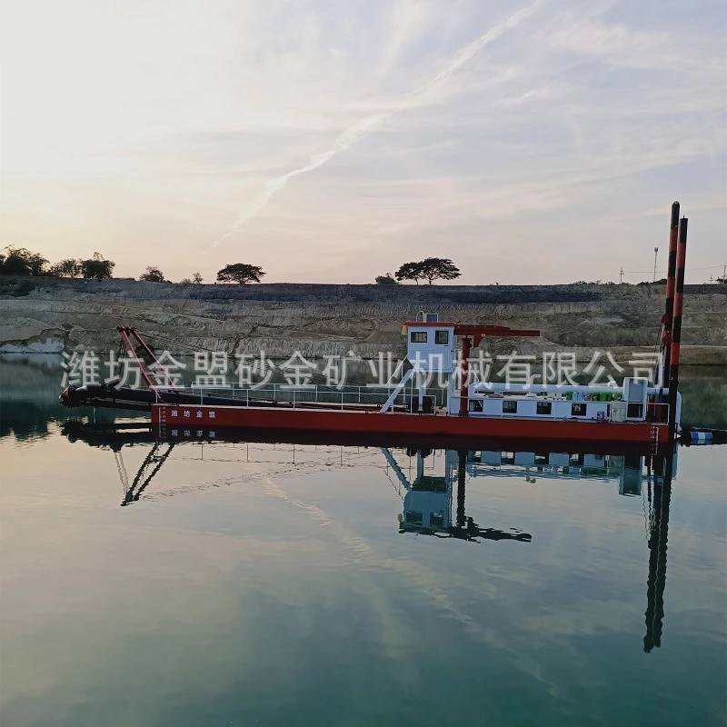 甘肃小型内河抽沙船 100方绞吸式抽沙船低价销售