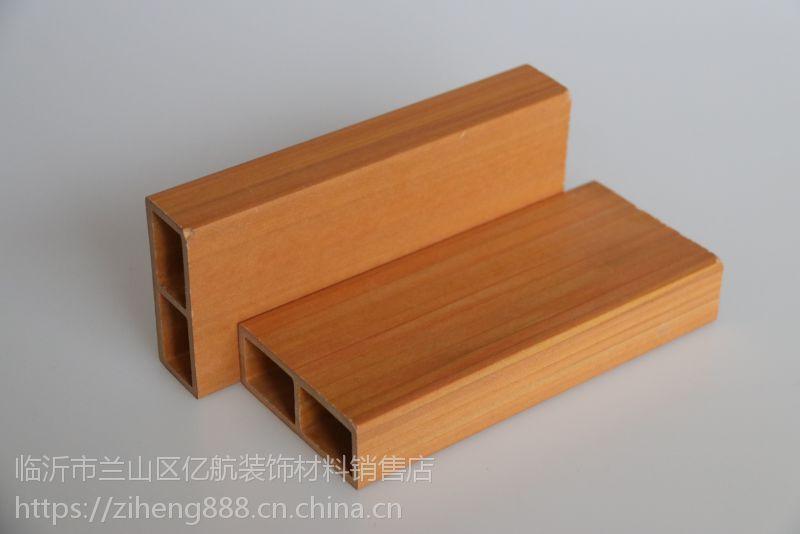 七彩桥生态木塑100*25单筋方通隔断,扣板天花防霉阻燃可包覆