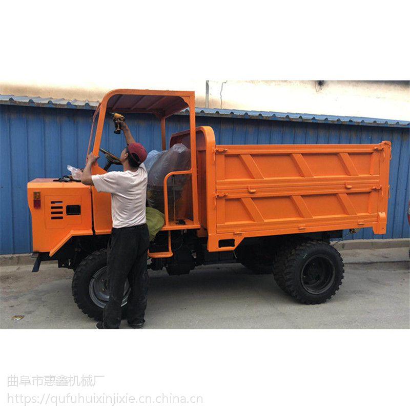 农用拉粮专用四不像 工程施工物料四轮车 刚果共和国煤矿开采用的四轮拖拉机