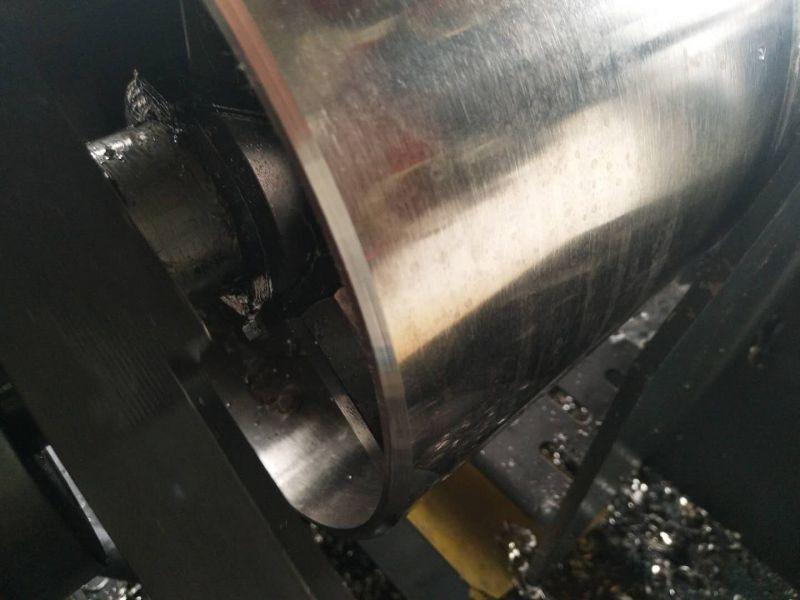 不锈钢管打坡口 锯床切割