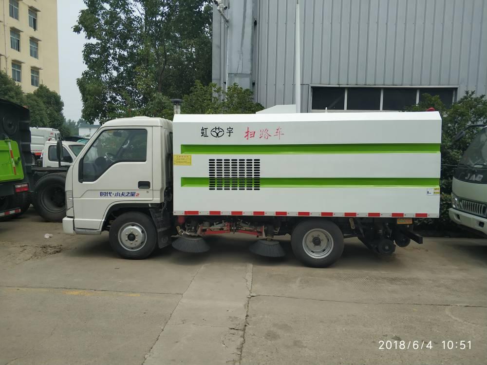 福田扫路车-小型扫路车视频