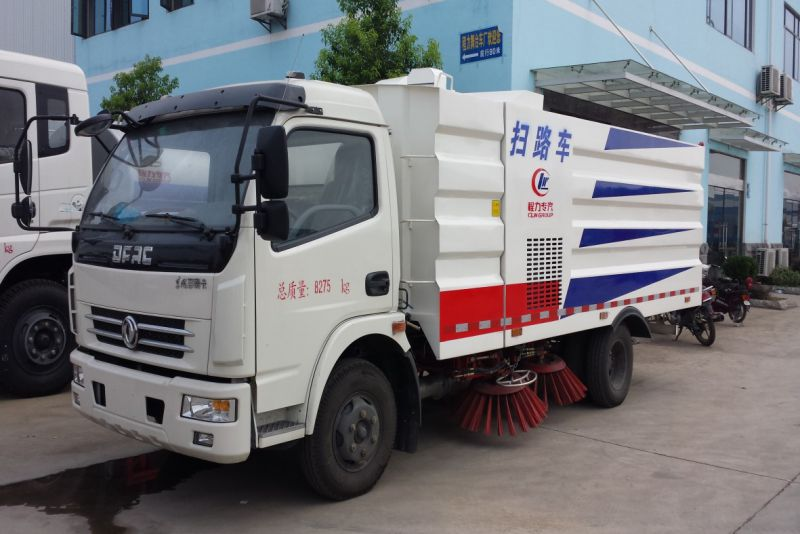 东风天锦8吨清扫车报价_城市路面清扫车在哪买_路面清扫机厂家