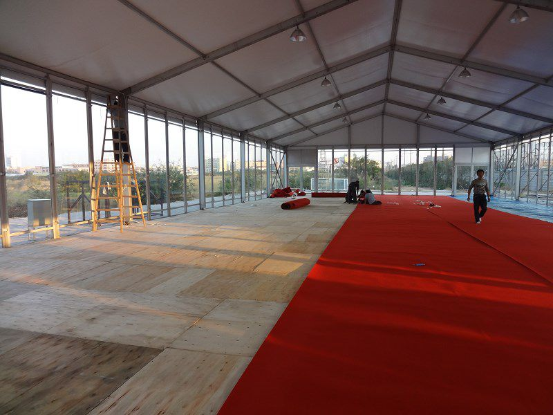 铝合金15米跨度篷房