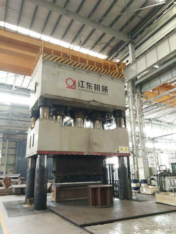 4000吨四柱液压机 买大中型液压机找重庆江锻公司