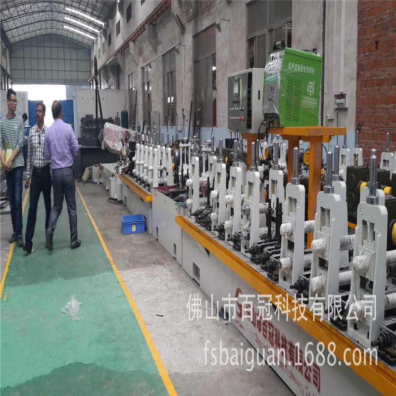 山东φ50/φ63高频焊管机组用于薄壁钢管或普通壁厚钢管的生产