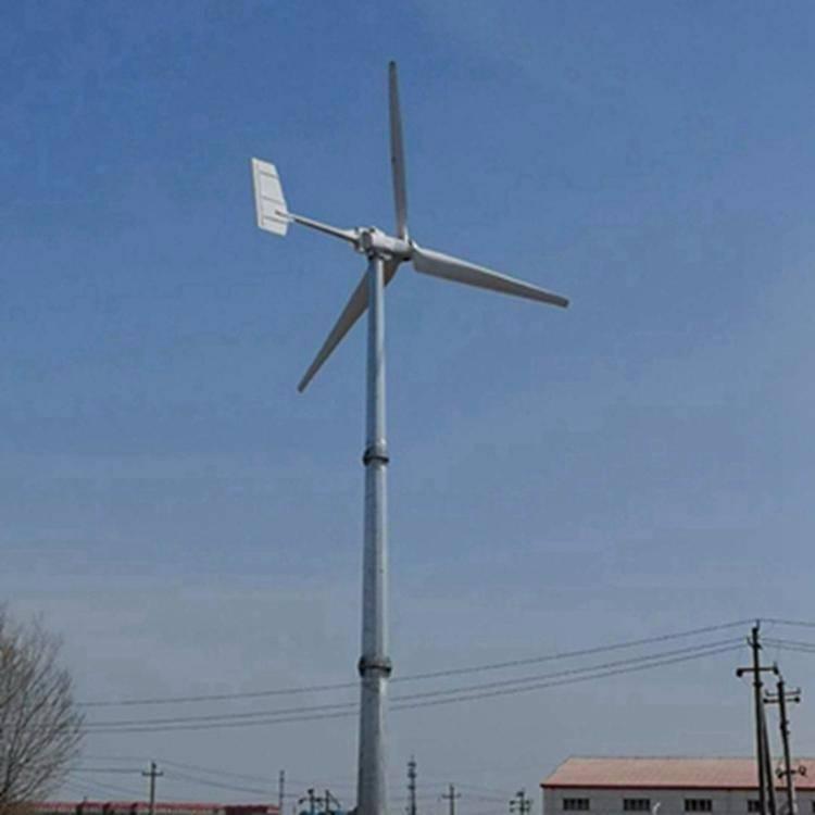 排风口安装三相交流永磁发电机 5000W永磁水平轴3叶风力发电机 成都晟成冬季大降价