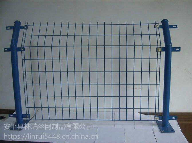 圈地隔离护栏网 安全防护双边丝护栏网 公路铁丝防撞双边丝护栏网