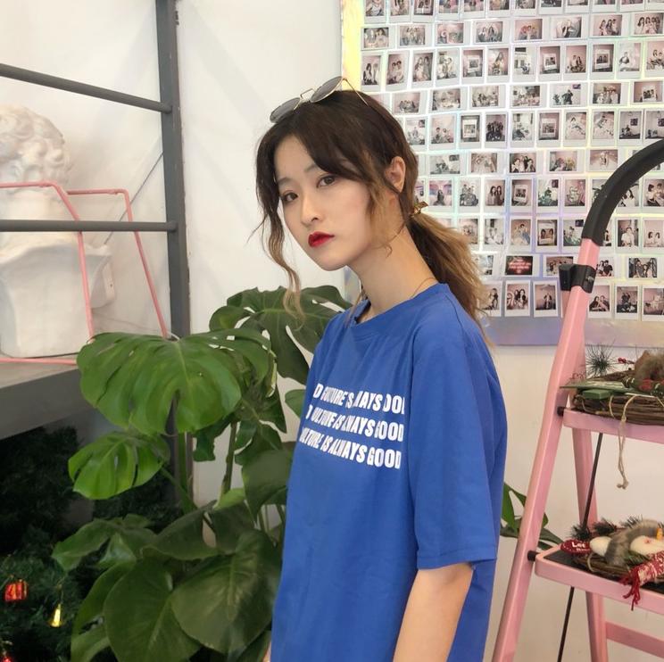 2019夏季新款女装t恤短袖衣服 韩版学生短袖T恤批发