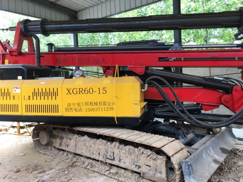山东XNGONG/星工履带式旋挖钻机采用小松底盘 扭矩力大
