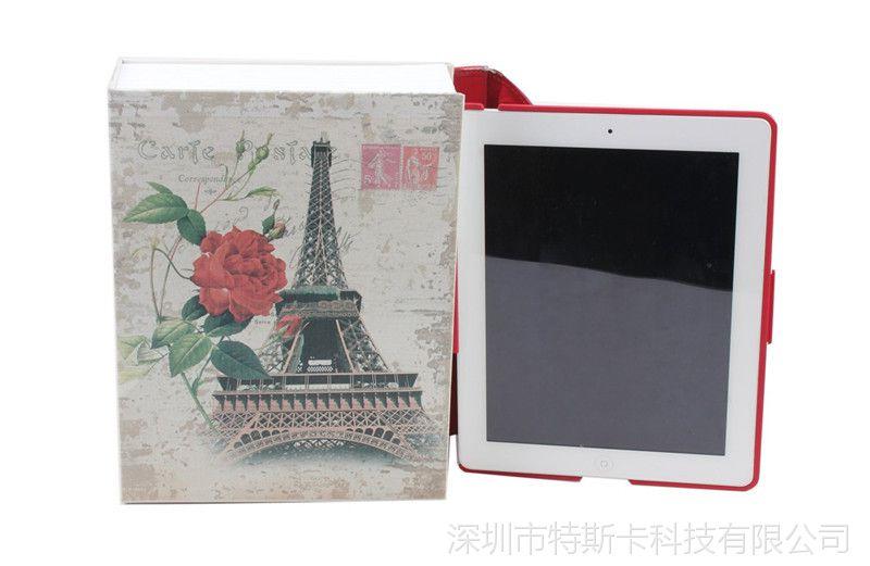 巴黎埃菲尔铁塔v书本书本保险箱创意密码儿童20-25L方桶图片