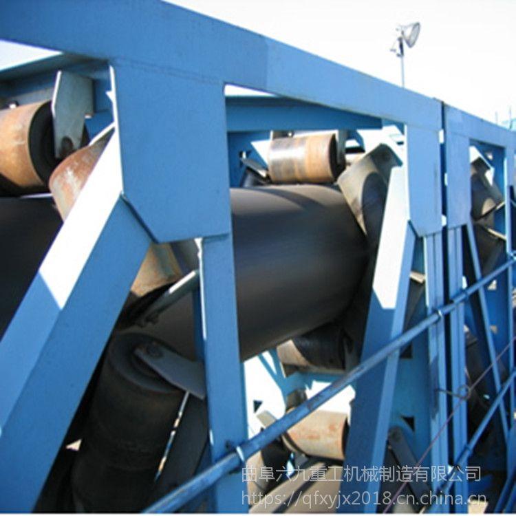 萧山圆管带式输送机 输送粮食直销