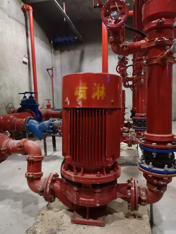 消防泵喷淋泵消火栓泵立式管道离心泵