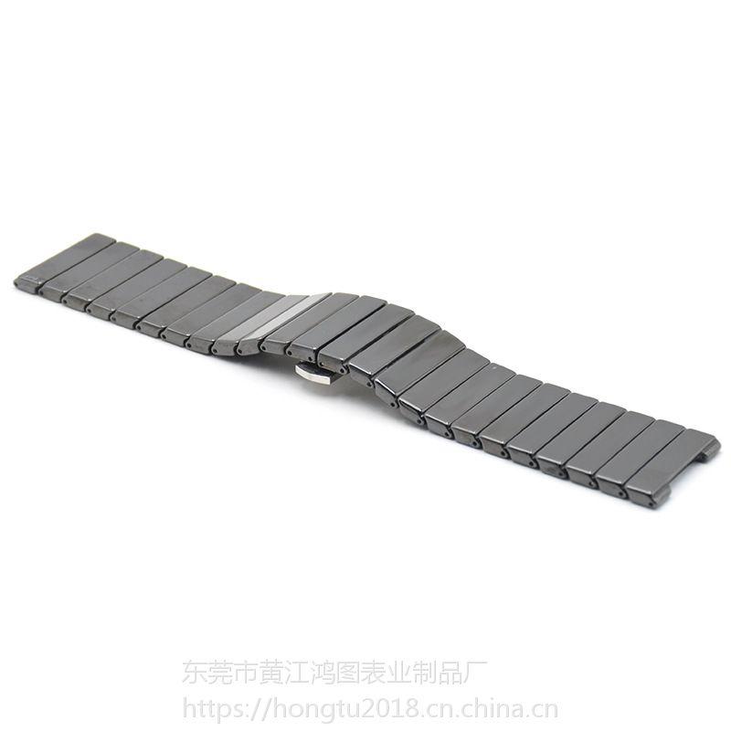 定制加工雷达陶瓷表带石英表配件陶瓷表带可来样定制